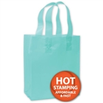 Frosted Petite Turquoise Bags