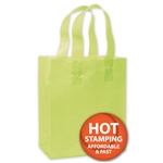 Frosted Petite Lime Green Bags