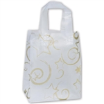 Frosted Petite Gold Stars Bags