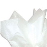 "#1 Pure White Tissue Paper- 15 x 20"" sheet size"