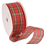 Wired Tartan Ribbon Clarkston