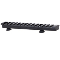 "AR15 Black Aluminum 6"" Accessory Rail"
