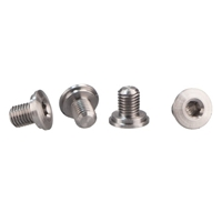 1911 Thin-Line Hex-Head Grip Screw Set-Stainless