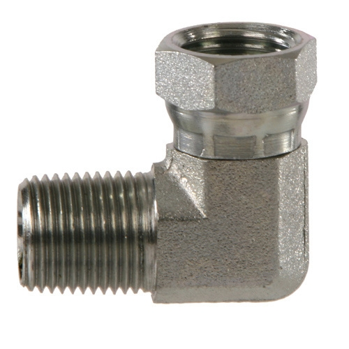 Npt to npsm elbow pipe swivel fittings hydraulics
