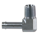 4501 Steel Beaded Hose Barb Hydraulic Fitting Adapter