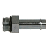 4604 Steel Beaded Hose Barb Hydraulic Fitting Adapter
