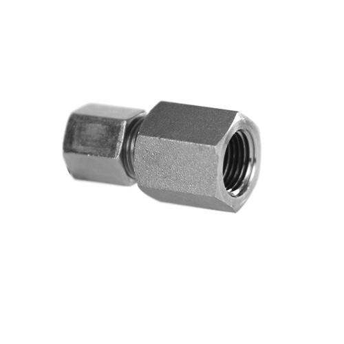 Compression tube fitting to npt female adapter