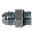 6400 - JIC to ORB | 37 Degree JIC SAE Flare Male x SAE O-Ring Boss ORB Male Adapter | Hydraulics Direct