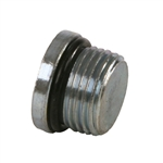 6409 Steel ORB Straight Thread O-Ring Boss Hydraulic Fittings