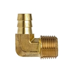 B-129_Brass_Barb_Male_NPTF_Elbow