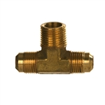 SAE x NPTF Pipe Male Branch Tee Brass Fitting