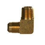 SAE x NPTF Pipe Male Brass Fitting