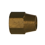 Compression Tube Long Nut Brass Fitting