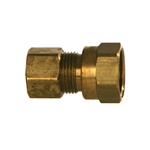 Compression Tube x NPTF Pipe Female Brass Fitting