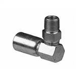 NPTF hose end fitting