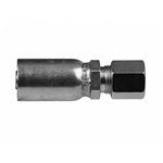 SAE J514 flareless compression hose end fitting