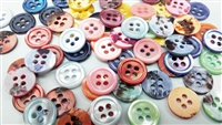 color pearl shirt buttons
