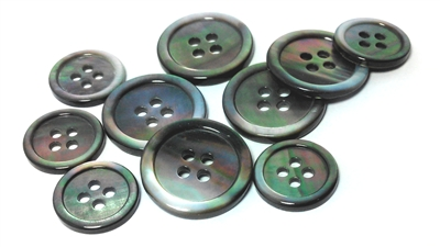 Smoke Mother of Pearl (MOP) Suit Buttons