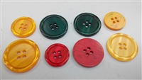 Dyed Imitation Shell Buttons