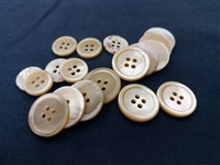 Natural, Beige (Snail) Pearl Suit Buttons