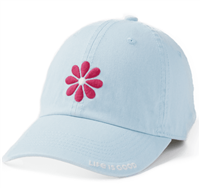 Life is Good Blue Daisy Petals Hat