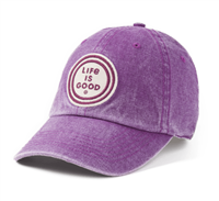 Life is Good Sunworn Purple Coin Hat
