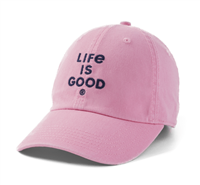 Life is Good Pink Branded Hat