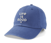 Life is Good Blue Branded Hat