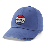 Life is Good USA Baseball Hat