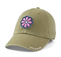 Life is Good Tattered Daisy Hat