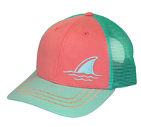 Margaritaville Big Fin Hat in Coral