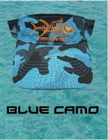 Tormenter Sun Visor-Blue Camo with Tuna