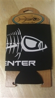 Tormenter Black with White Bones Can Coozie