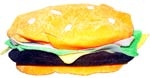 Velour Cheeseburger Hat