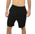 Wave Life Performance Hybrid Shorts in Black