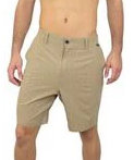 Wave Life Performance Hybrid Shorts in Khaki