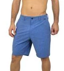 Wave Life Performance Hybrid Shorts in Blue