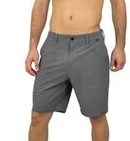 Wave Life Performance Hybrid Shorts in Gray