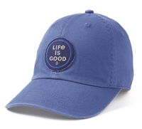 Life is Good Chill Blue Coin Hat