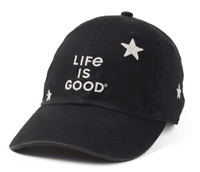 Life is Good All Over Star Hat