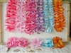 Large Silk Flower Lei<BR>Assorted Colors