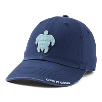 Life is Good Sunwashed Turtle Chill Hat-13779