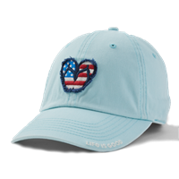 Life is Good USA Tattered Flip Flops Chill Hat-13780