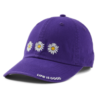 Life is Good Three Daisies Chill Hat-13781