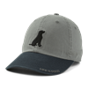 Life is Good Two Tone Dog Chill Hat-13795