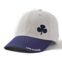 Life is Good Shamrock Two Tone Chill Hat-13783
