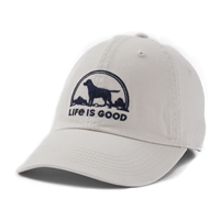 Life is Good Dog Scene Chill Hat-13782