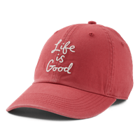 Life is Good Scribble Script Chill Hat-13788