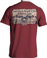 Laid-Back<BR>Fireline Beach Hut Tee