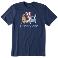 Life is Good American Adirondack Crusher Tee